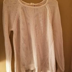 Michael Kors open knit sweater
